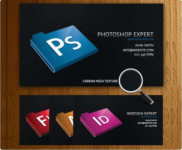 88 Printable Business Card Templates Adobe in Photoshop by Business Card Templates Adobe