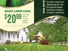 88 Printable Lawn Mowing Flyer Template Layouts by Lawn Mowing Flyer Template