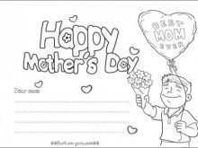 88 Printable Mother S Day Card Templates For Preschoolers For Free for Mother S Day Card Templates For Preschoolers