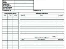 Open Office Contractor Invoice Template