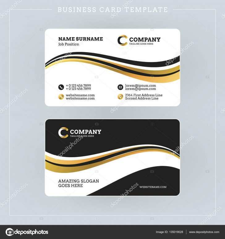 88 Report Two Sided Business Card