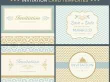88 Standard Invitation Card Template Vintage For Free for Invitation Card Template Vintage