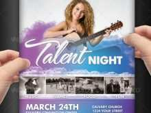 88 Standard School Talent Show Flyer Template PSD File with School Talent Show Flyer Template