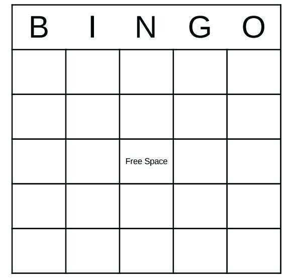 88 The Best Bingo Card Template For Word in Photoshop by Bingo Card Template For Word