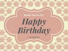 Birthday Card Html Template