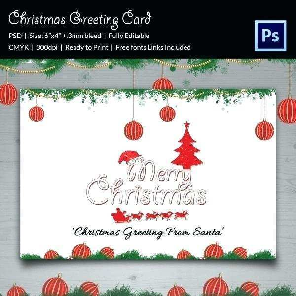 88 The Best Christmas Greeting Card Template Word Maker with Christmas Greeting Card Template Word