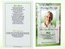 88 The Best Memorial Flyer Template Formating for Memorial Flyer Template