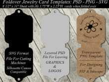 88 The Best Printable Earring Card Template Now for Printable Earring Card Template