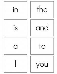 88 Visiting Sight Word Card Templates Templates with Sight Word Card Templates