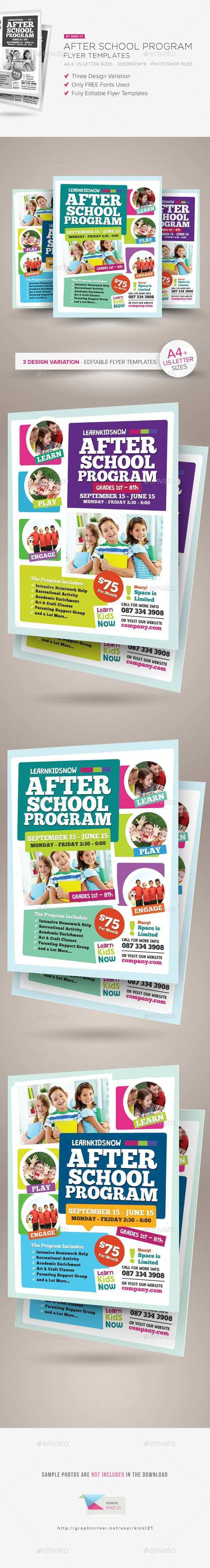 89 Adding After School Flyer Template Free Layouts by After School Flyer Template Free