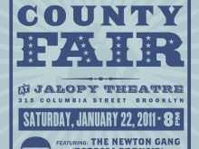 89 Adding County Fair Flyer Template Templates with County Fair Flyer Template
