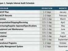 89 Best Audit Plan Schedule Template Templates with Audit Plan Schedule Template