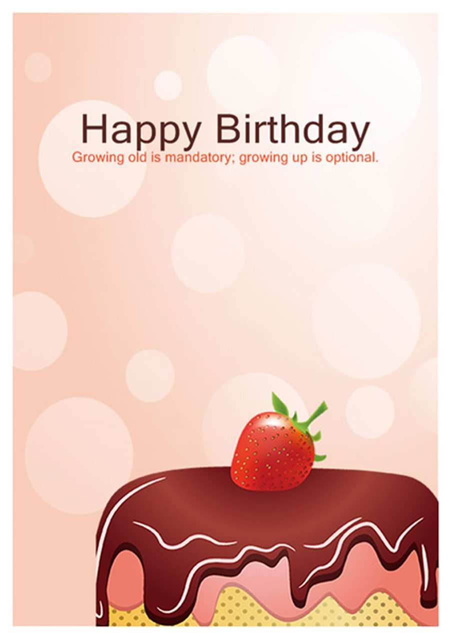 89 Best Birthday Card Templates To Download For Free by Birthday Card Templates To Download