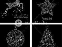89 Best Christmas Card Templates Free Black And White for Christmas Card Templates Free Black And White