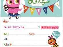 89 Best Invitation Card Format Of Birthday Maker with Invitation Card Format Of Birthday