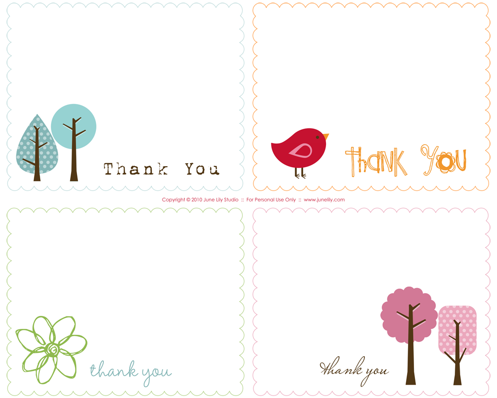 22 Blank Thank You Card Template To Print Free in Word for Thank With Template For Cards To Print Free