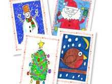 89 Creating Christmas Card Template For School Now by Christmas Card Template For School