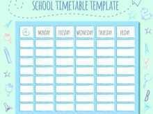 89 Creating Class Schedule Template Online Templates for Class Schedule Template Online
