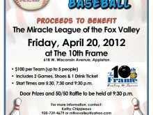 89 Creative Baseball Fundraiser Flyer Template Download with Baseball Fundraiser Flyer Template