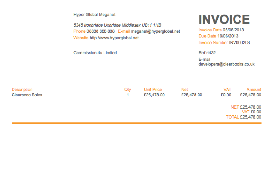 89 Customize Email Invoice Template Uk By Email Invoice Template Uk Cards Design Templates