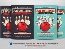 89 Format Bowling Night Flyer Template With Stunning Design with Bowling Night Flyer Template