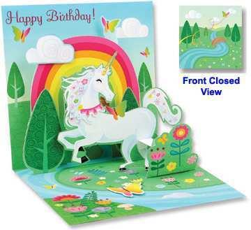 89 Format Unicorn Pop Up Card Template Templates by Unicorn Pop Up Card Template