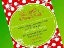89 Free Printable Christmas Invitation Flyer Template Free in Word for Christmas Invitation Flyer Template Free