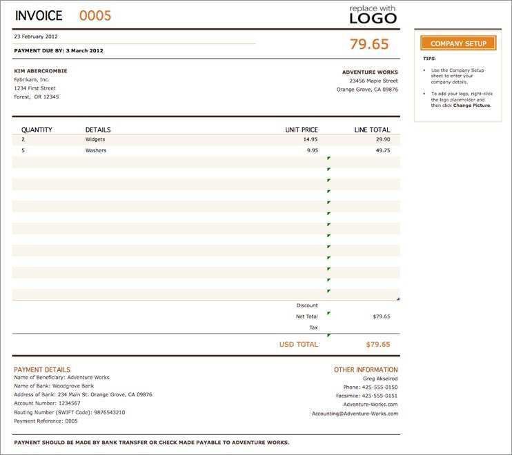 89 Free Vat Invoice Templates Uk In Word With Vat Invoice Templates Uk Cards Design Templates
