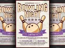 89 Online Bowling Flyer Template Free Formating by Bowling Flyer Template Free