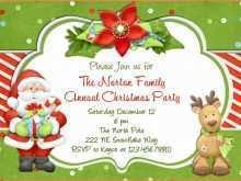 89 Printable Christmas Card Invitations Templates Templates by Christmas Card Invitations Templates