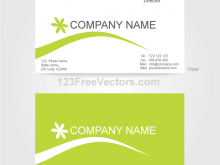 89 Report Business Card Layout In Illustrator Maker for Business Card Layout In Illustrator