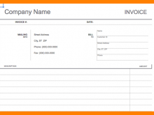 89 The Best Basic Personal Invoice Template Download by Basic Personal Invoice Template
