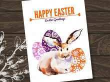 89 Visiting Easter Greeting Card Templates For Free with Easter Greeting Card Templates
