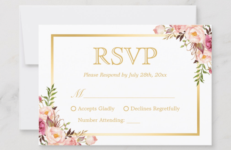 90 Adding Invitation Card Rsvp Format Photo for Invitation Card Rsvp Format