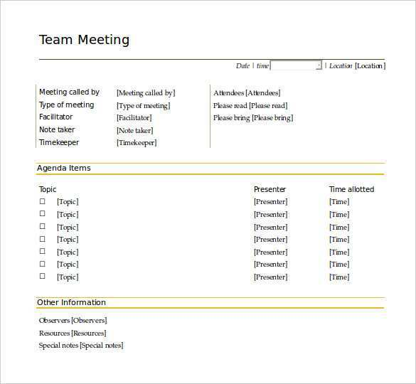 90 Best Conference Agenda Template Doc in Photoshop for Conference Agenda Template Doc
