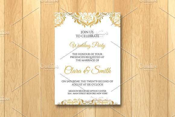 90 Best Invitation Card Template With Photo Templates for Invitation Card Template With Photo