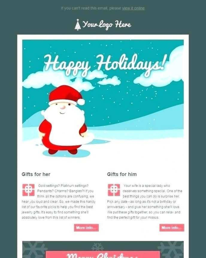 90 Christmas Card Template Email for Ms Word for Christmas Card Template Email