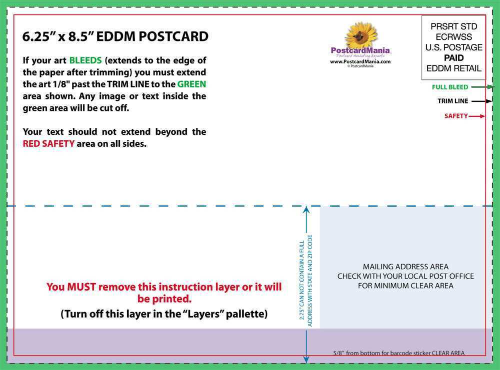90 Create 4 X 9 Postcard Template in Photoshop with 4 X 9 Postcard Template