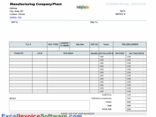 Create Blank Invoice Template