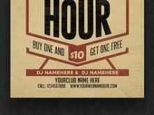 90 Create Happy Hour Flyer Template Free in Word with Happy Hour Flyer Template Free