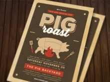 90 Creating Pig Roast Flyer Template Free Download with Pig Roast Flyer Template Free