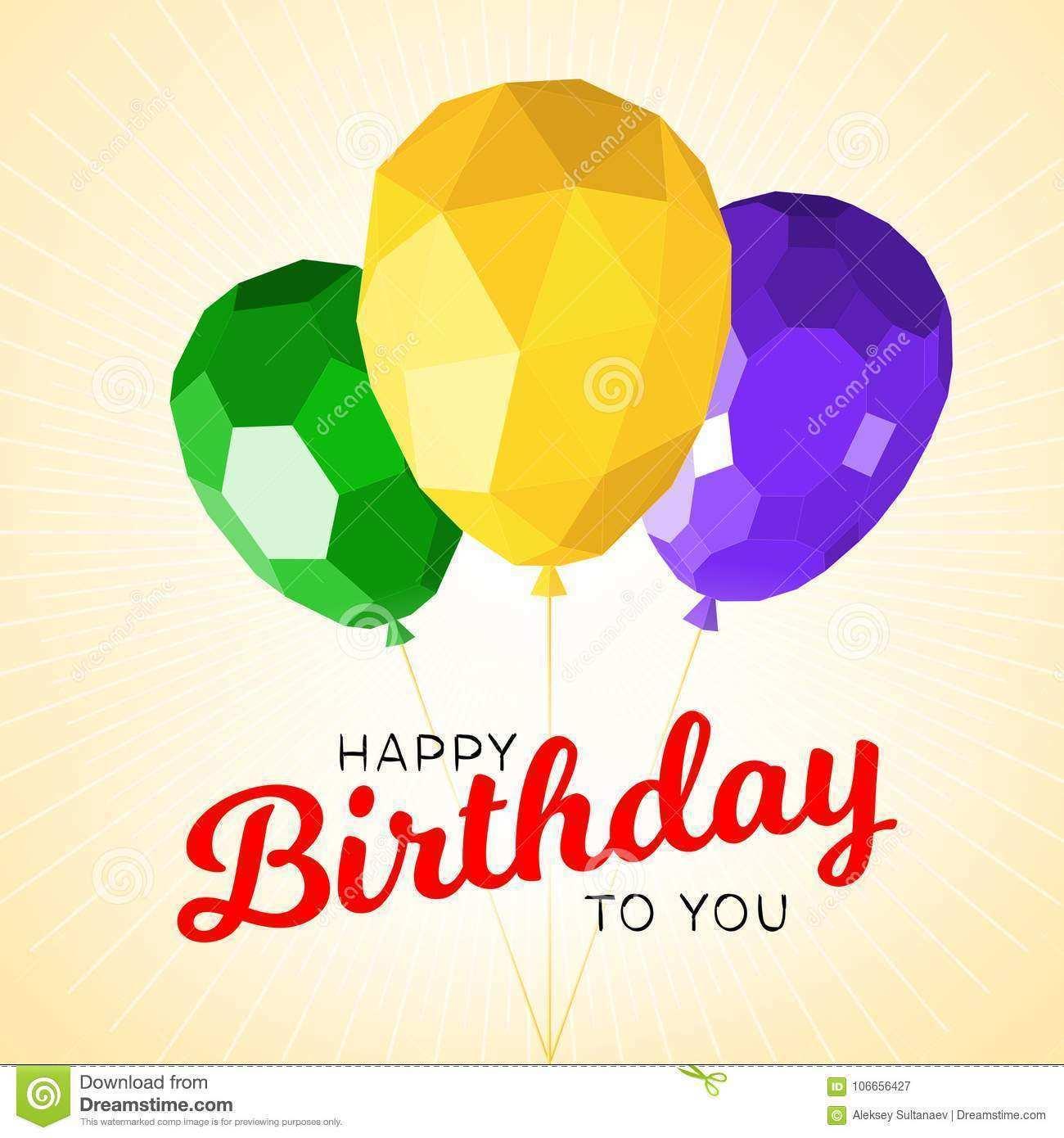 90 Customize Birthday Card Template Modern Maker with Birthday Card Template Modern