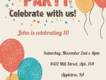 90 Customize Invitation Card Template Birthday in Word by Invitation Card Template Birthday