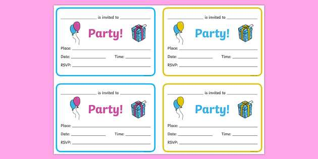 90 Customize Our Free Birthday Card Template Twinkl Templates by Birthday Card Template Twinkl