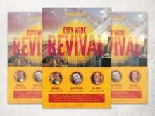 90 Customize Our Free Church Revival Flyer Template Now by Church Revival Flyer Template