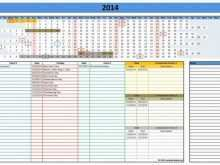 Production Planning Sheet Template