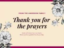 90 Format Thank You Card Template Funeral for Ms Word with Thank You Card Template Funeral