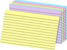 90 Free 5 X 8 Index Card Template Word Download for 5 X 8 Index Card Template Word