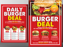 90 Free Burger Flyer Template Formating with Burger Flyer Template