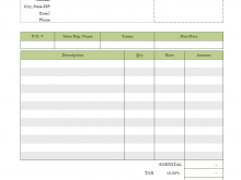 Free Private Investigator Invoice Template